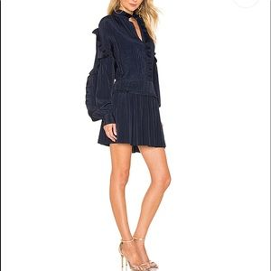 Joie Midnight Blue Black Jazelle Minidress.